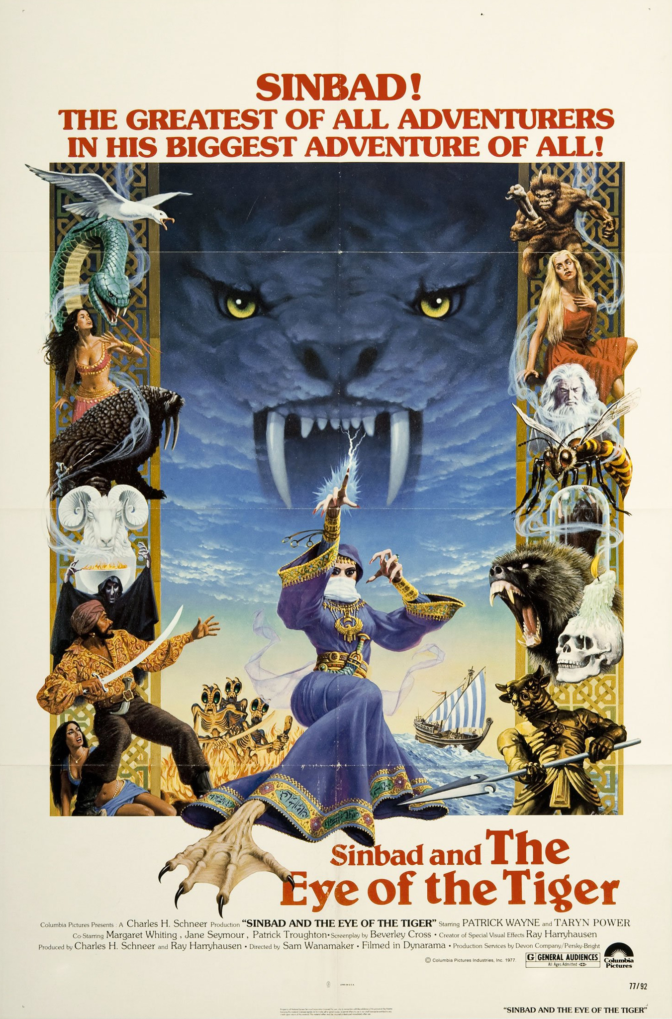 Sinbad and the Eye of the Tiger (1977) Technical Specifications