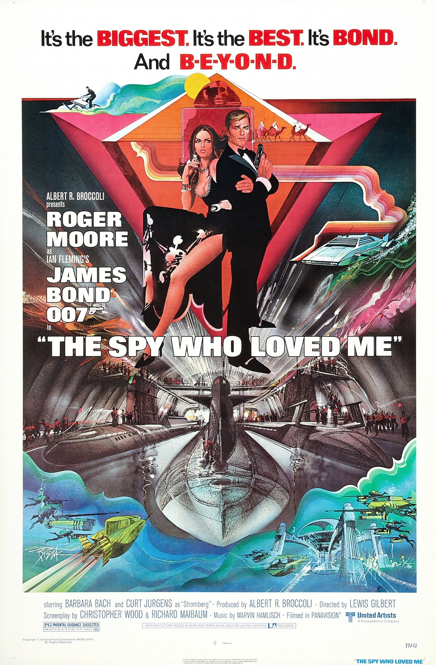 The Spy Who Loved Me (1977) Technical Specifications