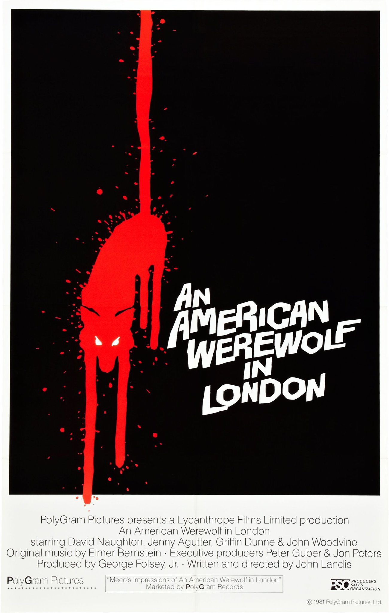 An American Werewolf In London (1981) Technical Specifications
