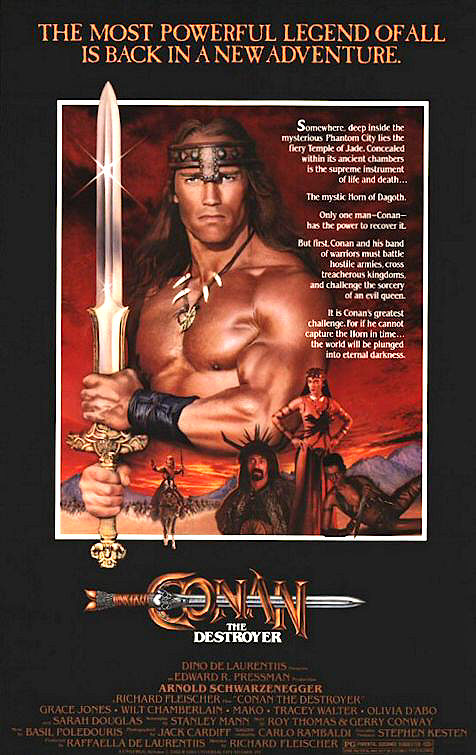 Conan the Destroyer (1984) Technical Specifications