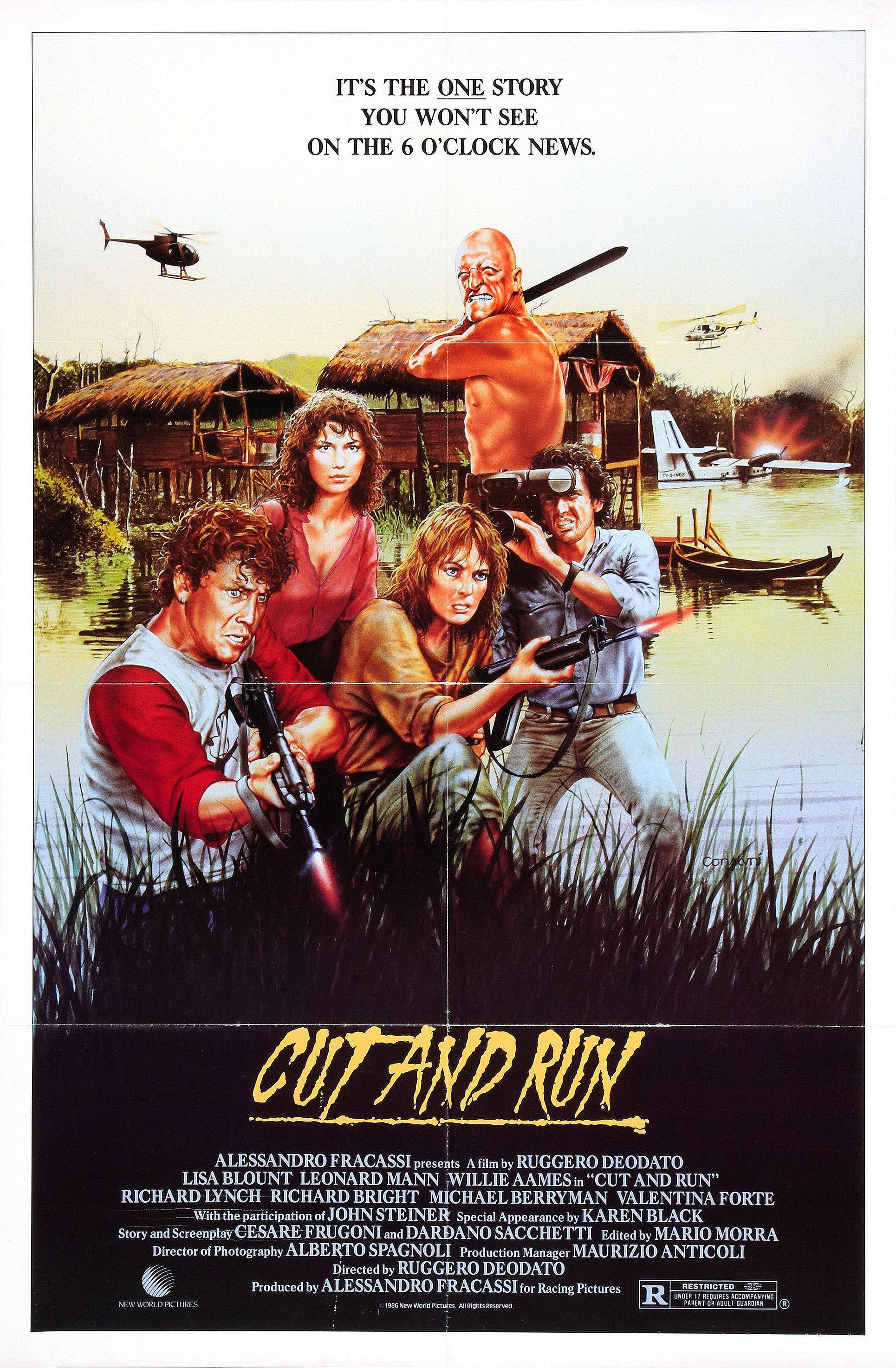Cut and Run (1985) Technical Specifications