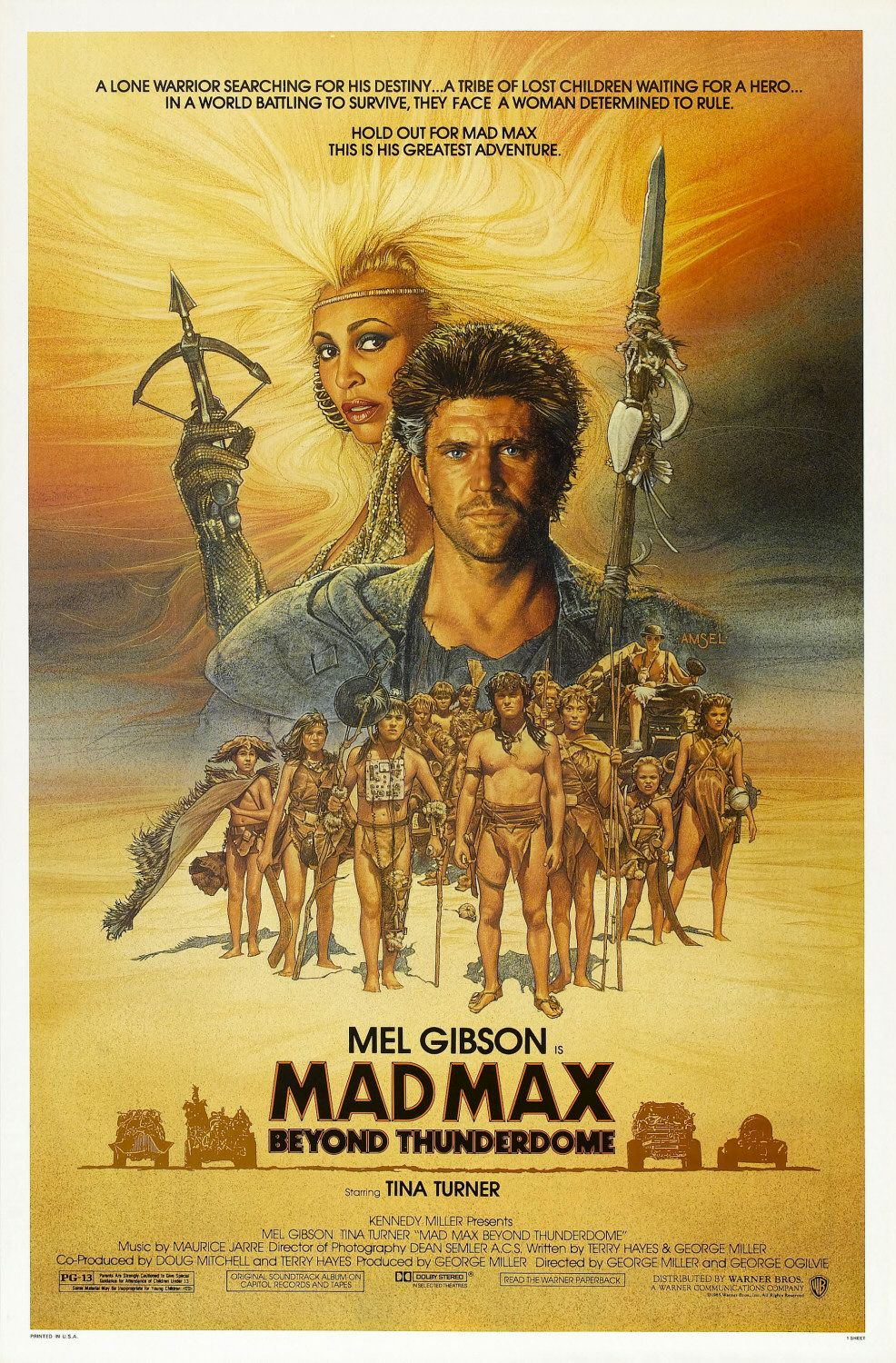 Mad Max Beyond Thunderdome (1985) Technical Specifications