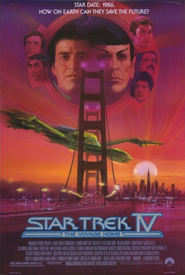 Star Trek IV: The Voyage Home (1986) Technical Specifications