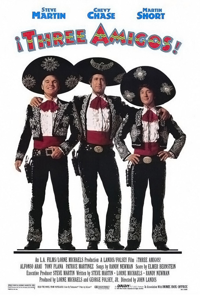 ¡Three Amigos! (1986) Technical Specifications