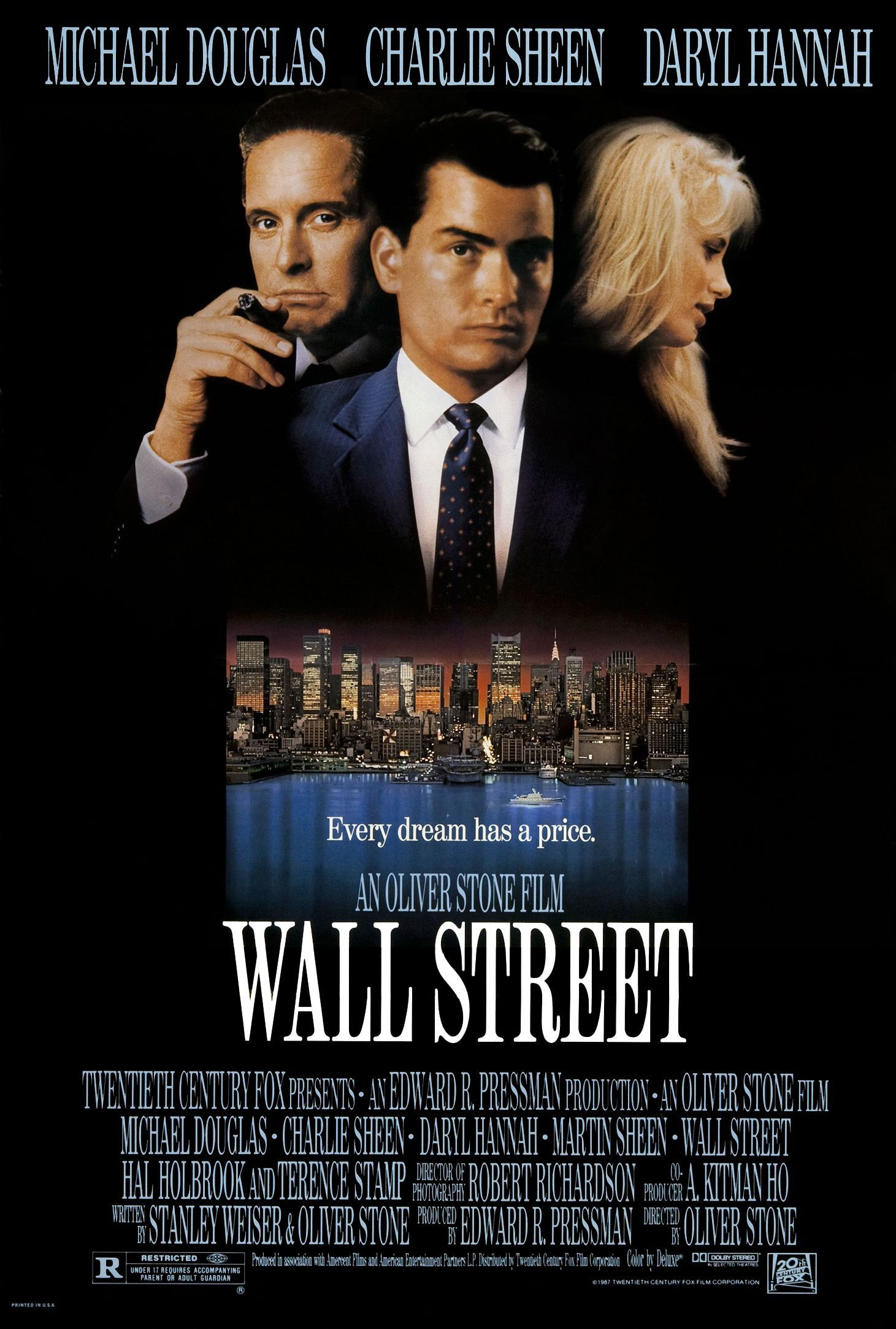 Wall Street (1987) Technical Specifications