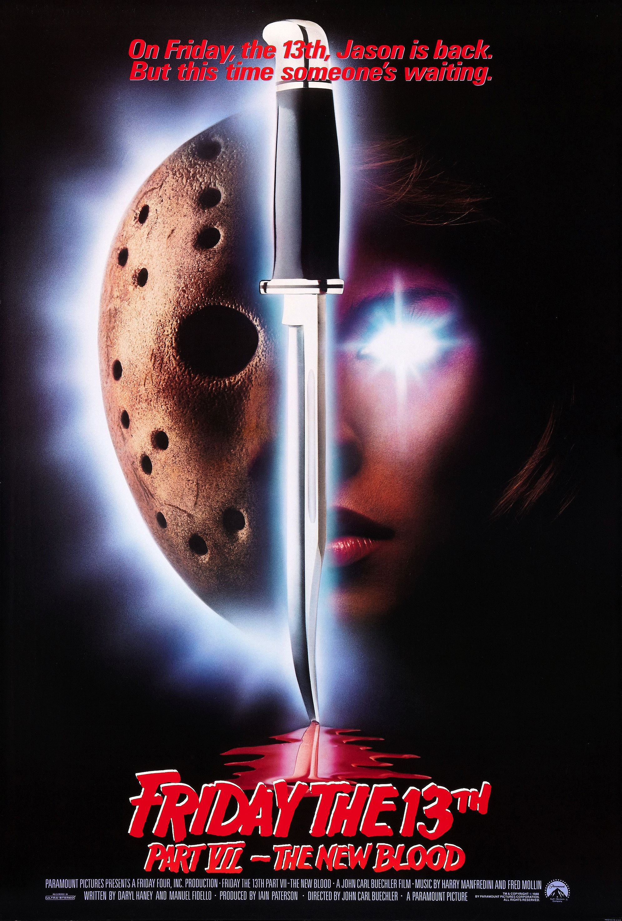 Friday the 13th Part VII: The New Blood (1988) Technical Specifications