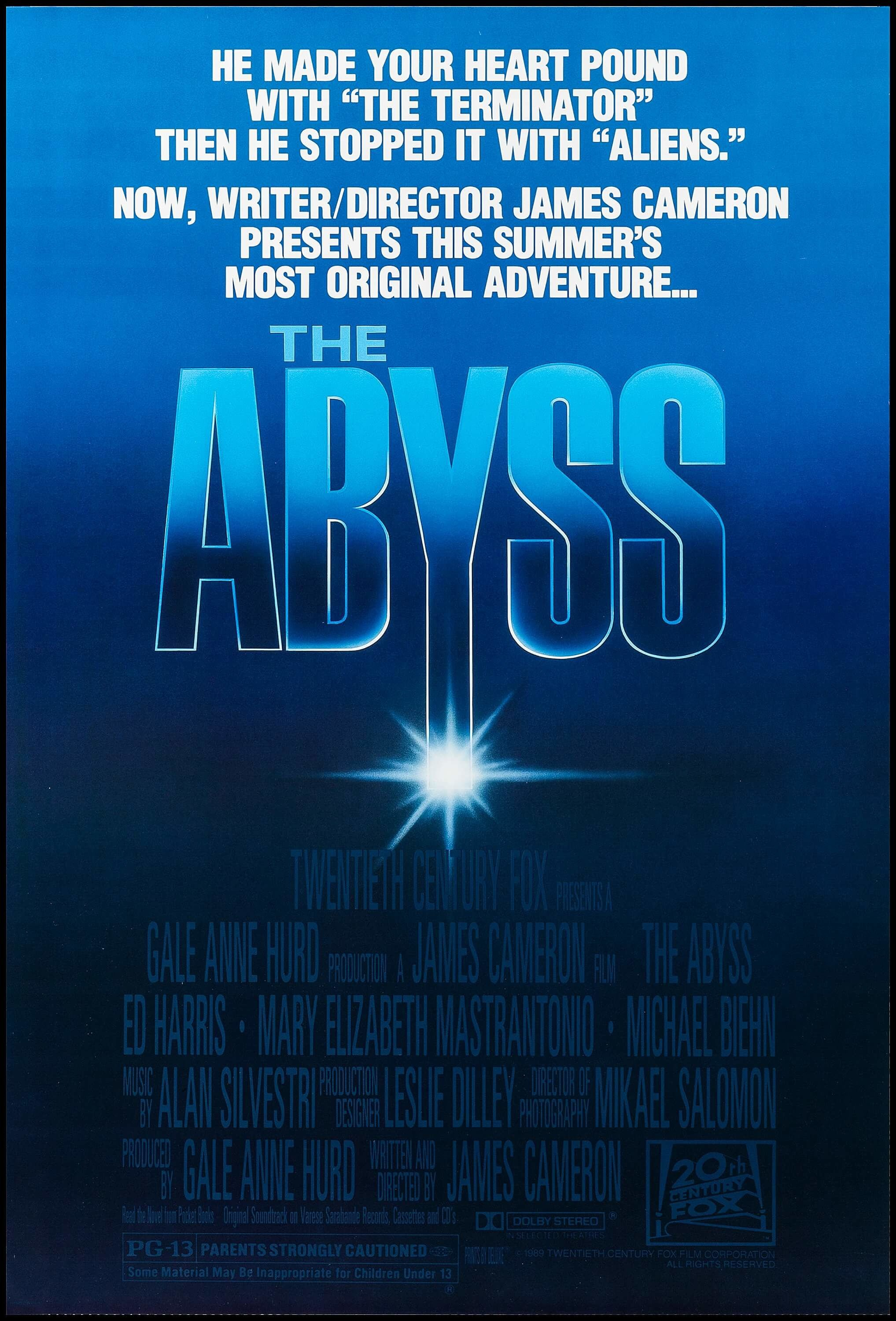 The Abyss Technical Specifications