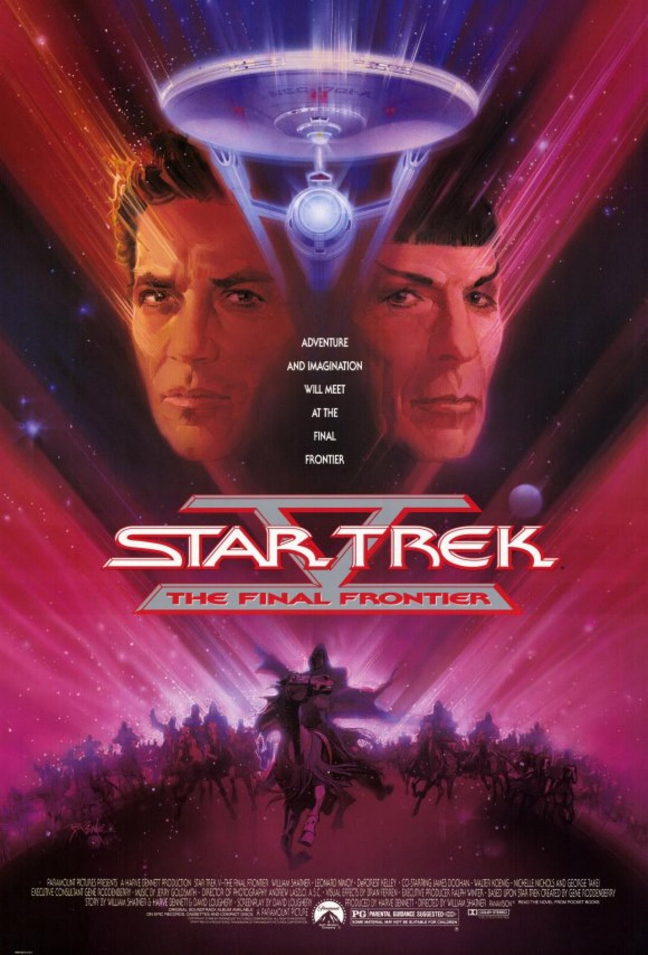 Star Trek V: The Final Frontier (1989) Technical Specifications