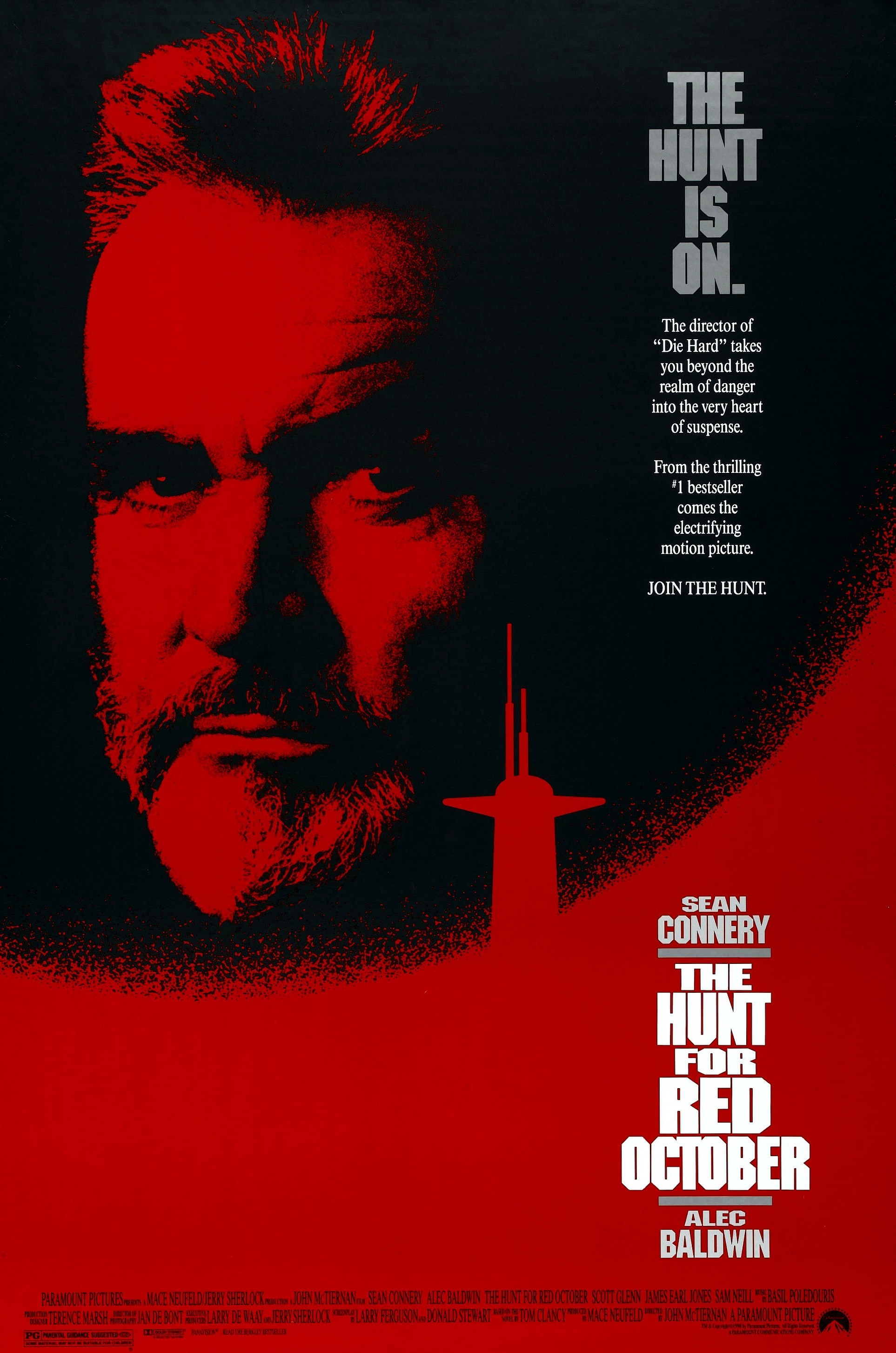 The Hunt for Red October (1990) Technical Specifications