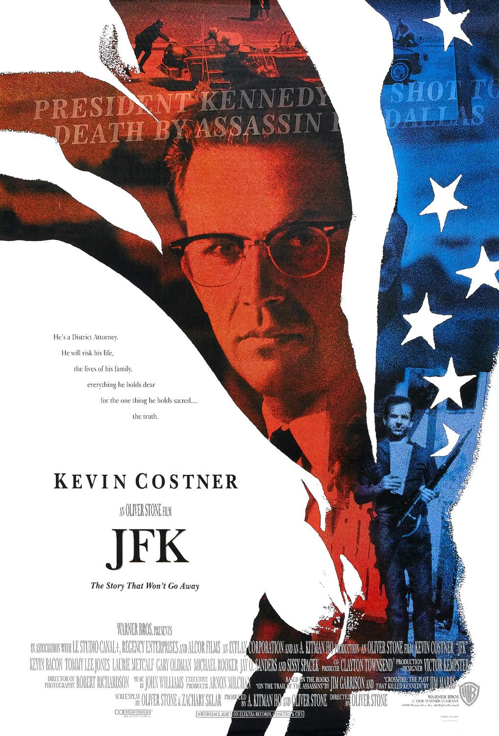 JFK (1991) Technical Specifications