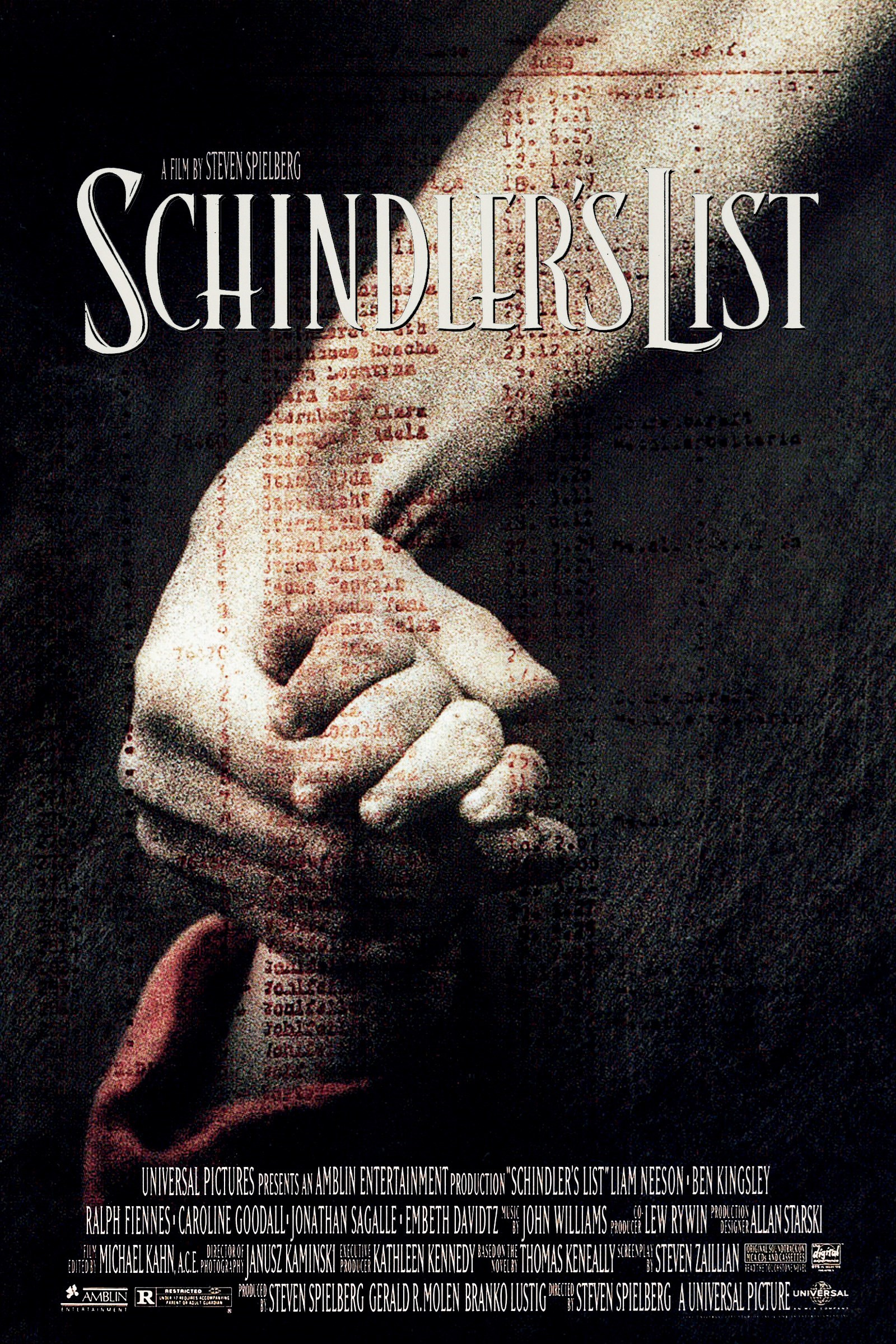 Schindler's List (1993) Technical Specifications