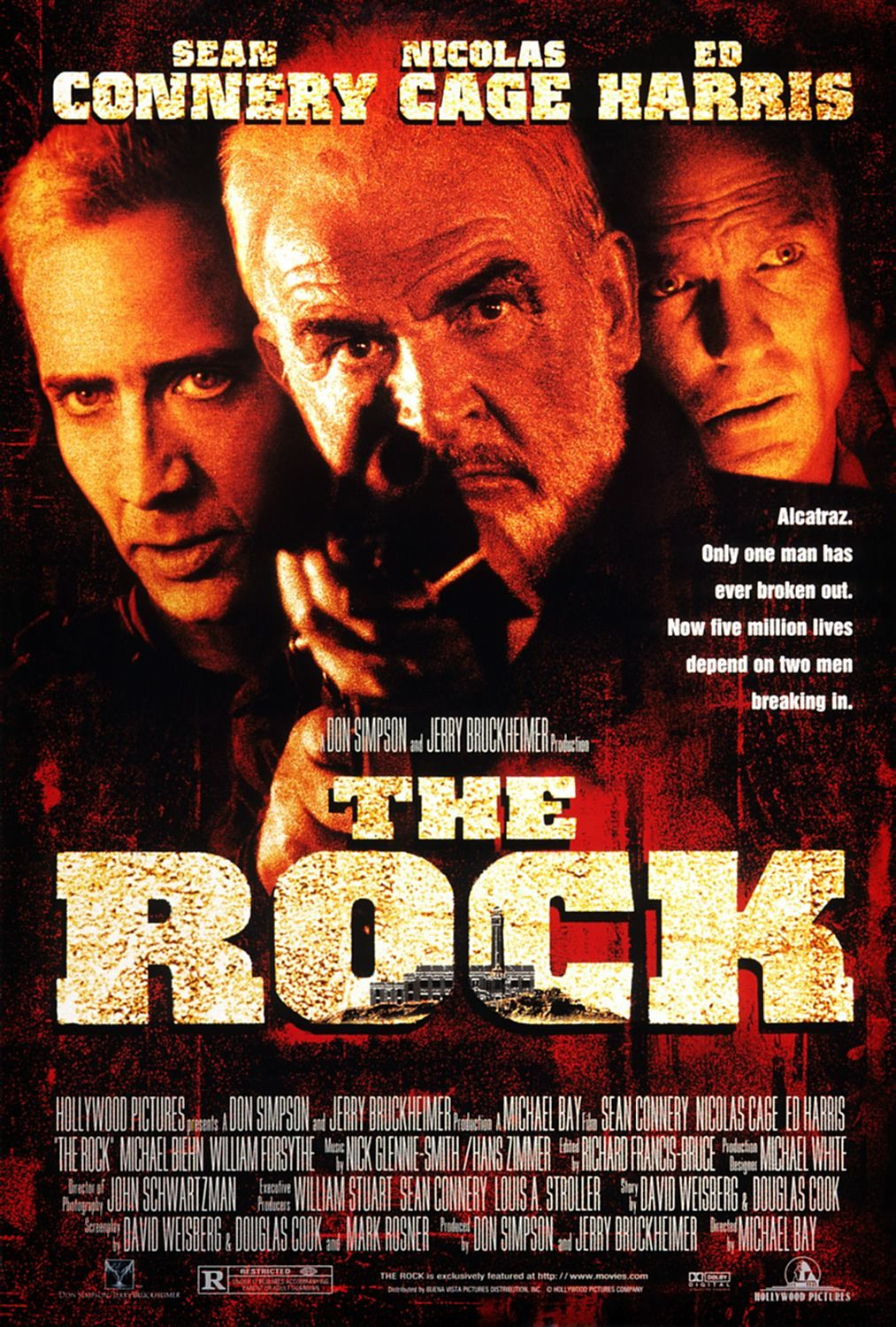 The Rock (1996) Technical Specifications