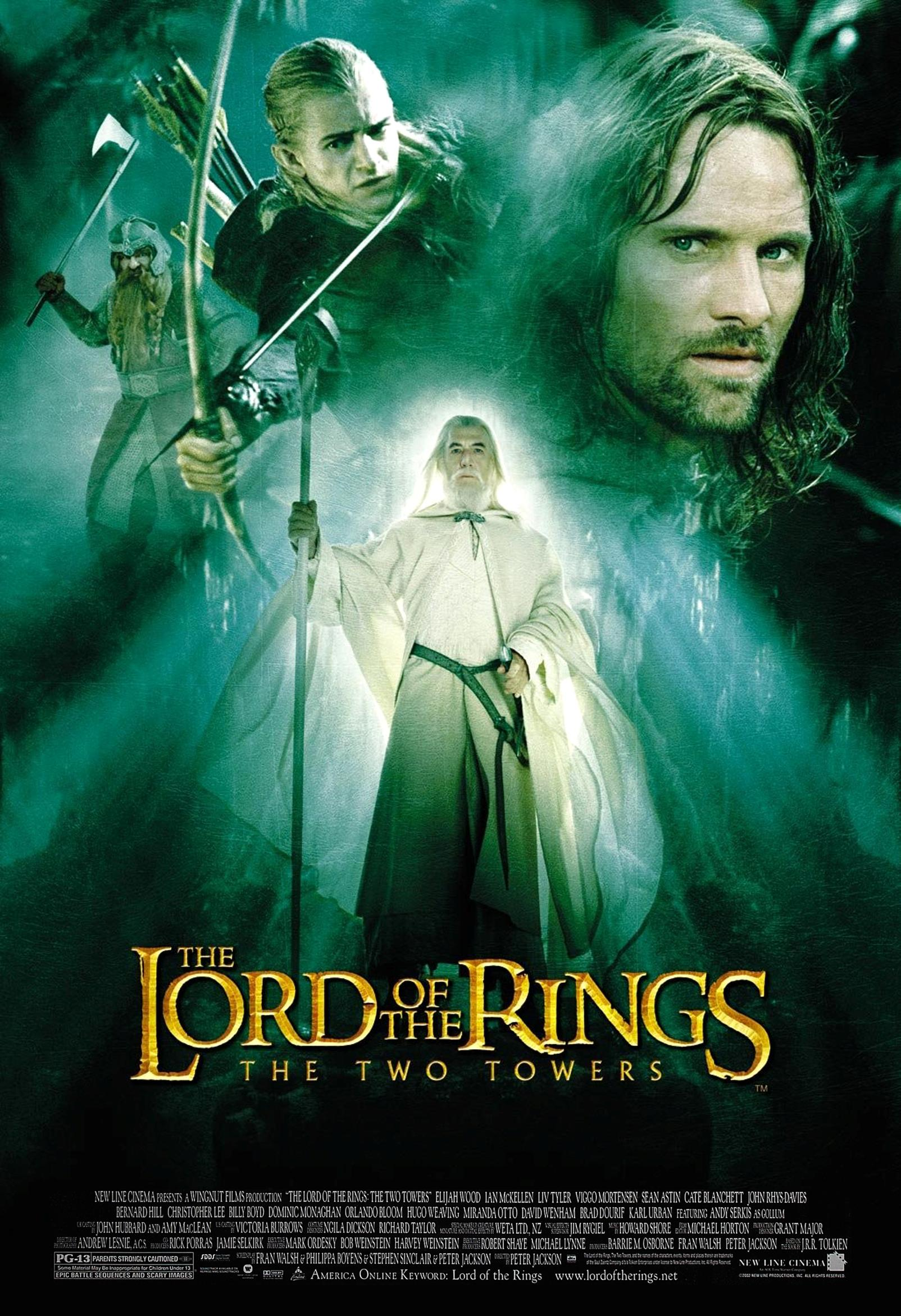 The Lord of the Rings: The Two Towers Technical Specifications