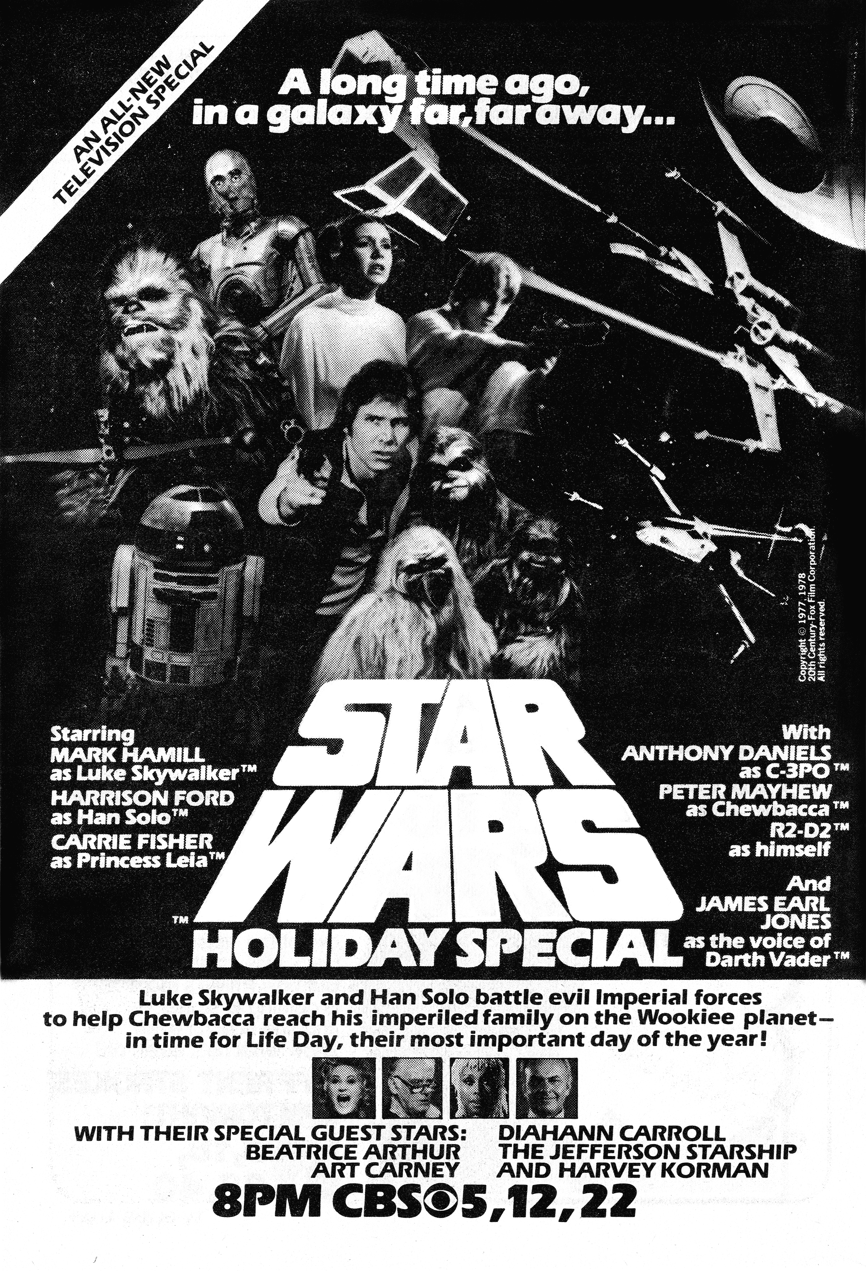 The Star Wars Holiday Special (1978) Technical Specifications