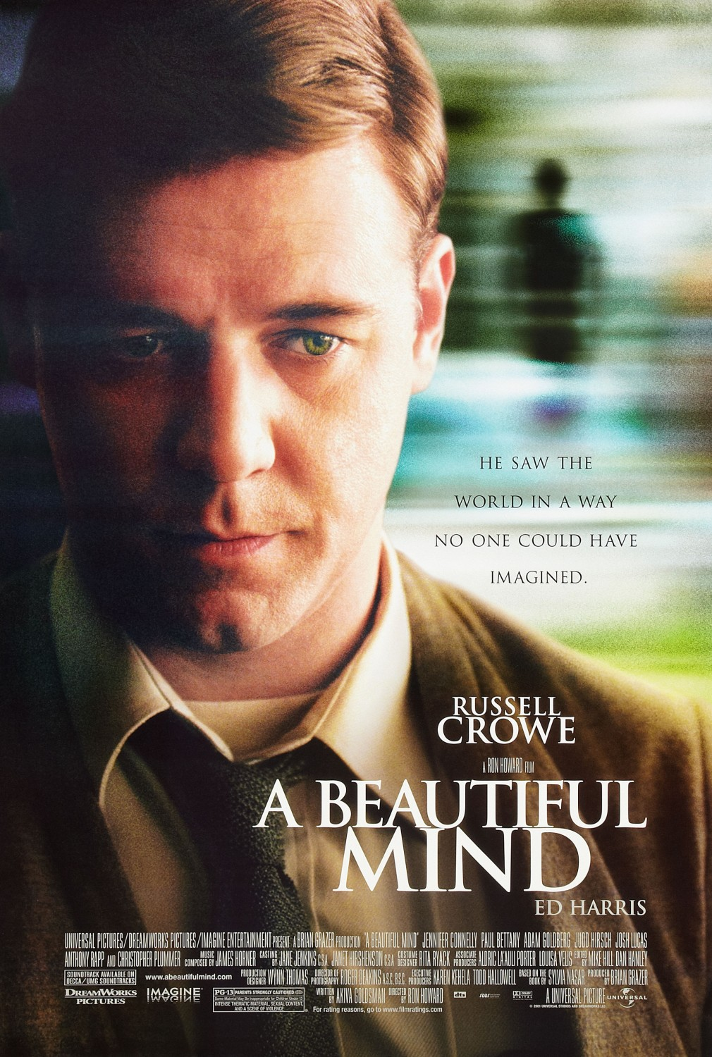 A Beautiful Mind (2001) Technical Specifications
