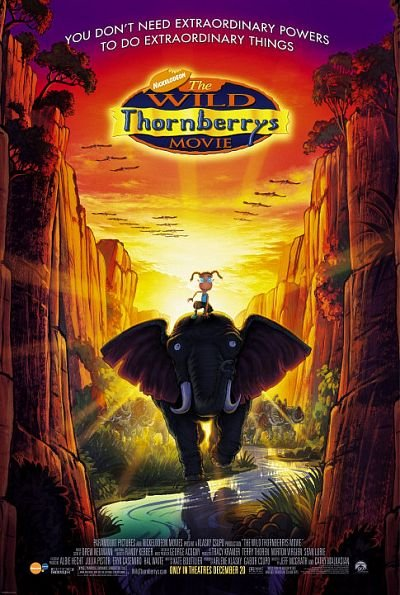 The Wild Thornberrys Movie Technical Specifications