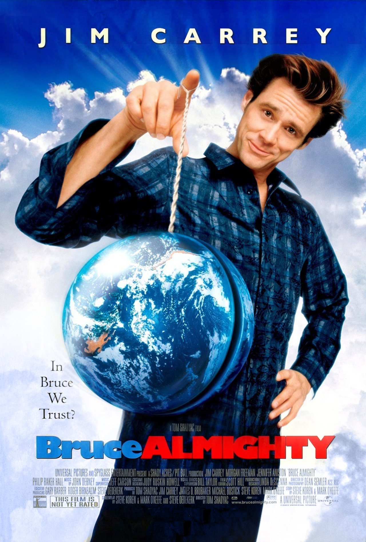 Bruce Almighty Technical Specifications
