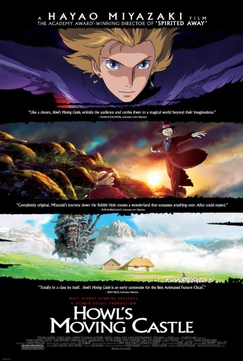 Howl's Moving Castle Technical Specifications