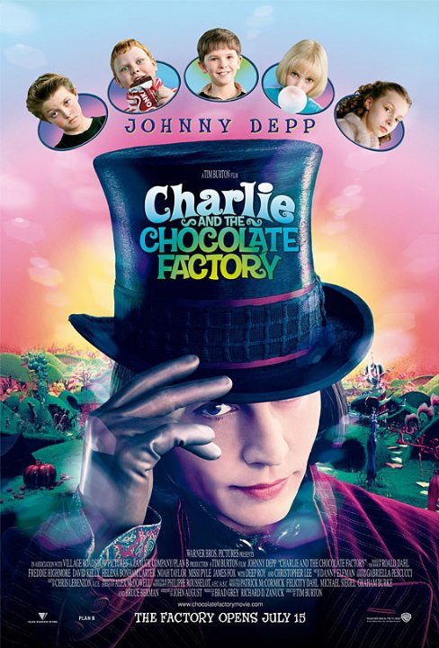 Charlie And The Chocolate Factory (2005) Technical Specifications