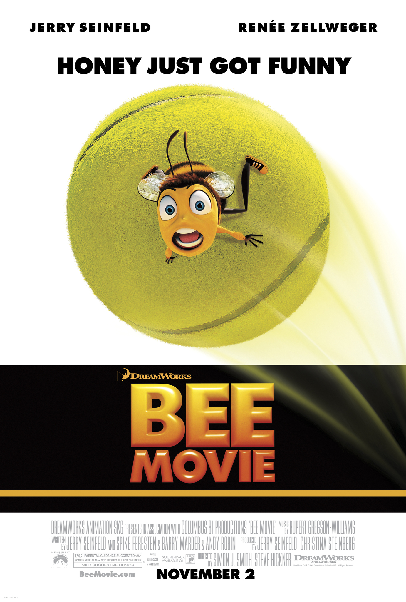 Bee Movie (2007) Technical Specifications