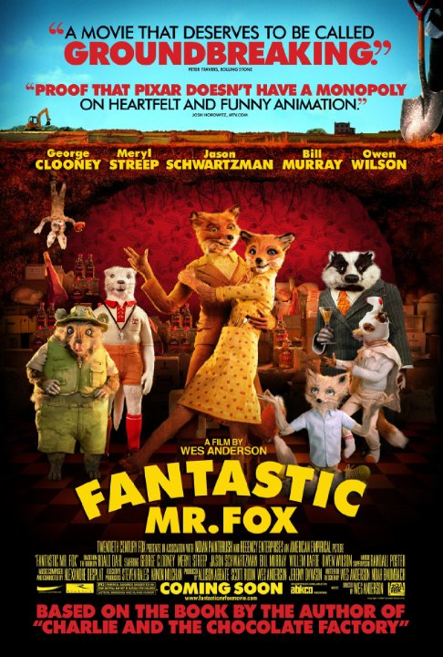 Fantastic Mr. Fox Technical Specifications