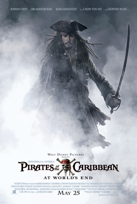 Pirates of the Caribbean: At World's End Technical Specifications