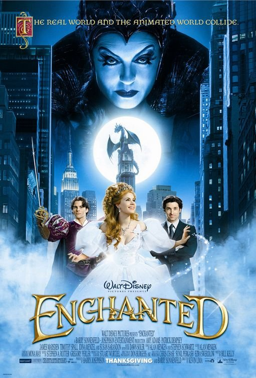 Enchanted (2007) Technical Specifications