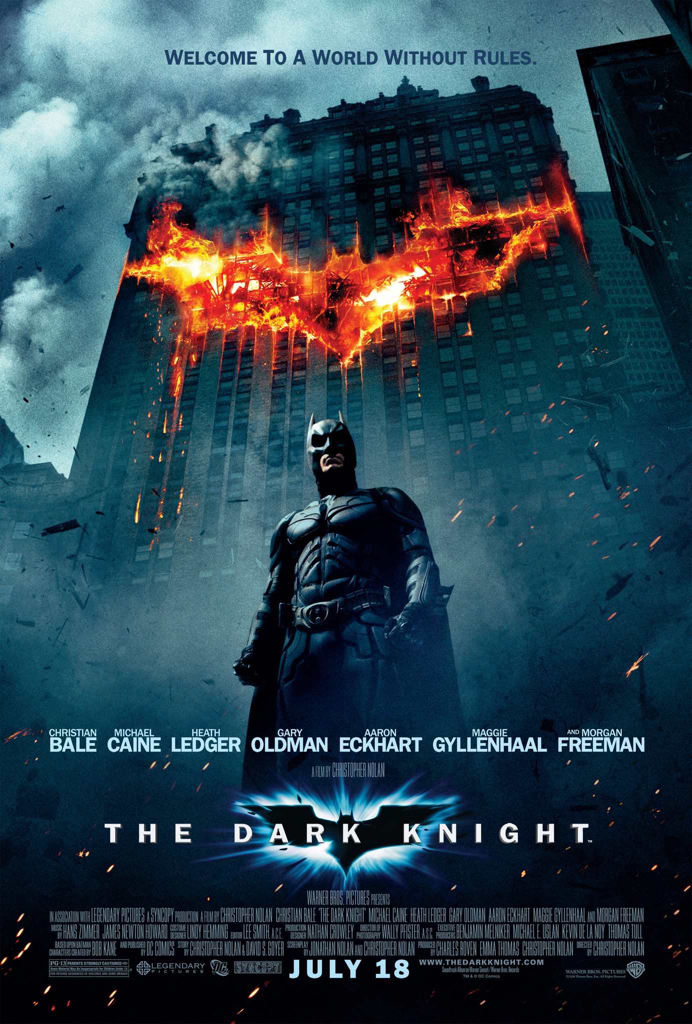 The Dark Knight (2008) Technical Specifications