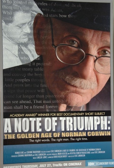 A Note of Triumph: The Golden Age of Norman Corwin Technical Specifications