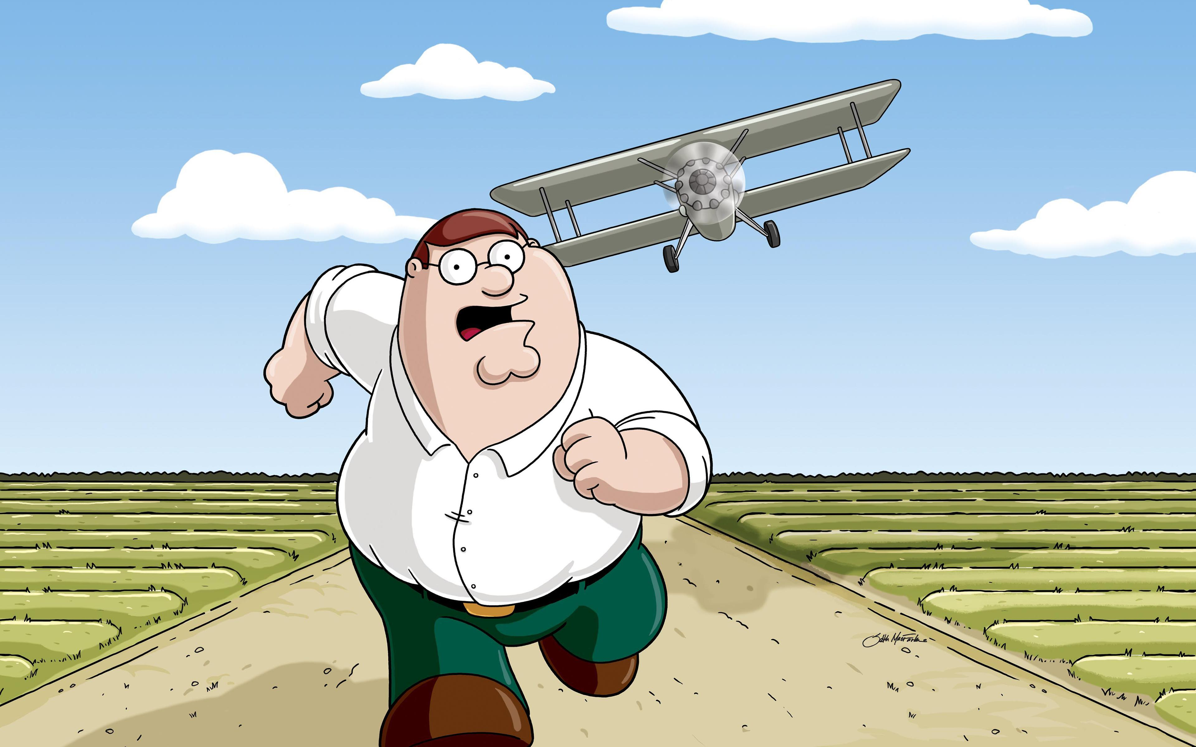 """Family Guy"" North by North Quahog"