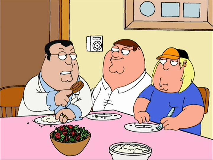 """Family Guy"" There's Something About Paulie"