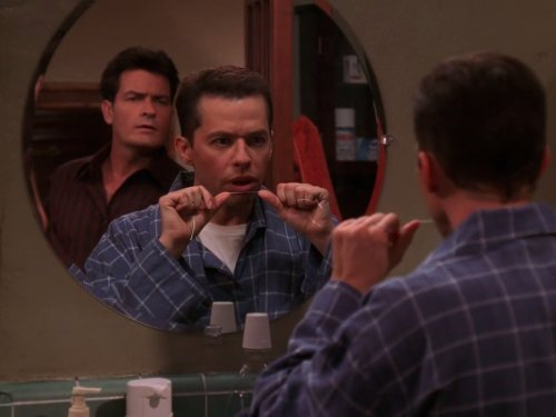 """Two and a Half Men"" The Price of Healthy Gums Is Eternal Vigilance Technical Specifications"