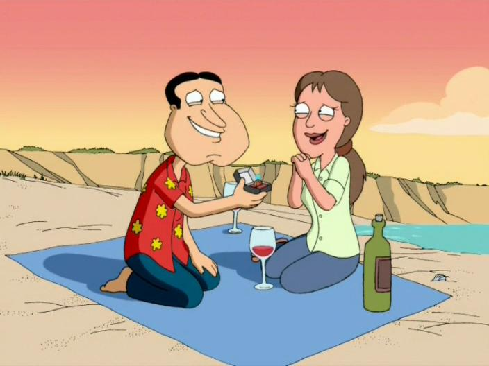 """Family Guy"" I Take Thee, Quagmire"