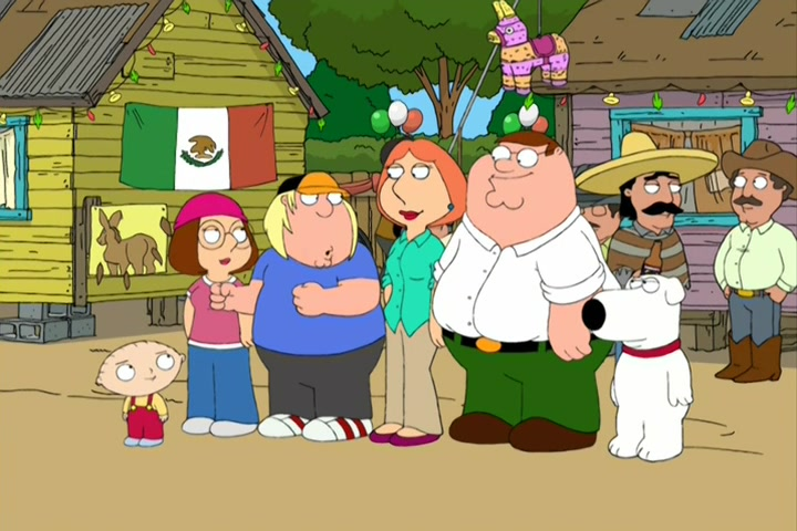 """Family Guy"" Padre de Familia"