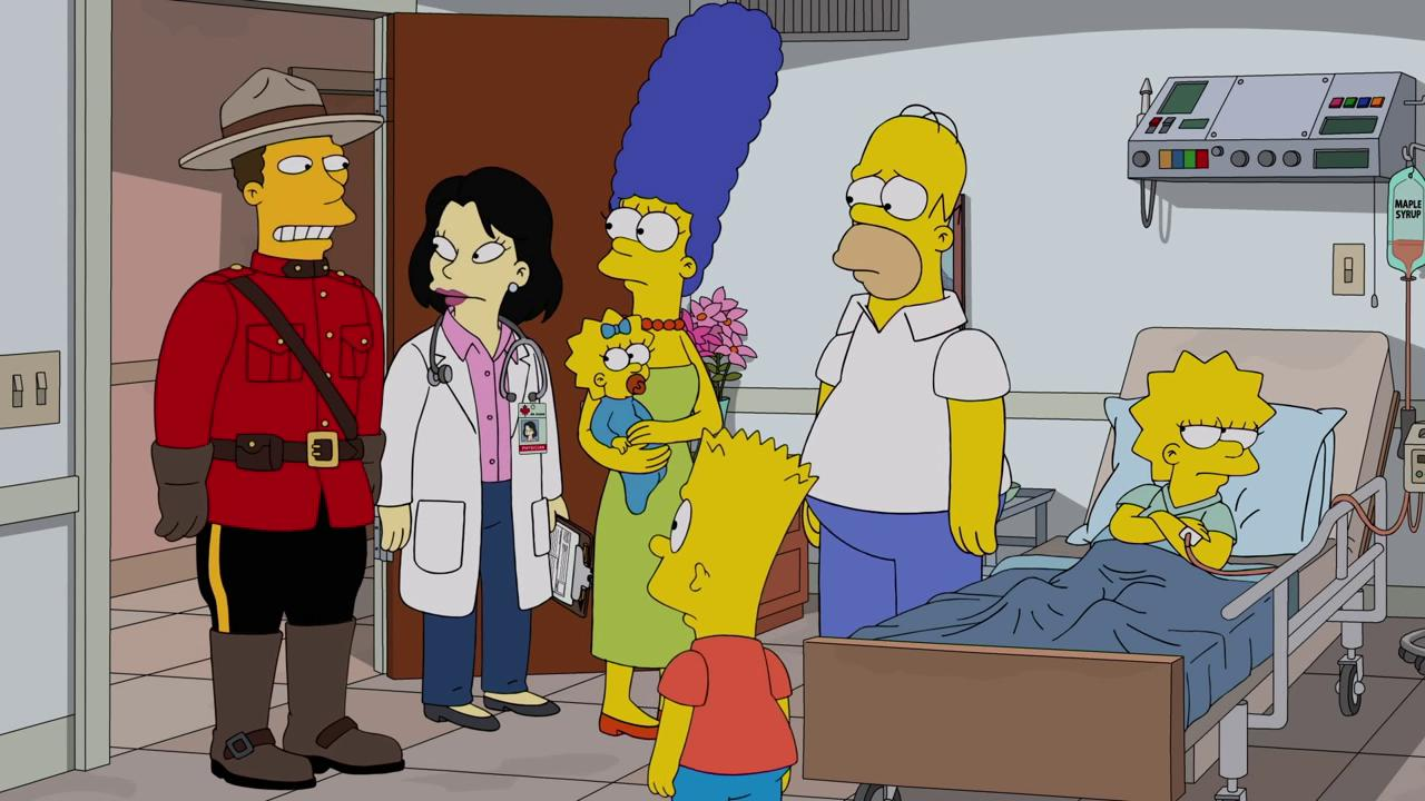 """The Simpsons"" D'oh Canada"