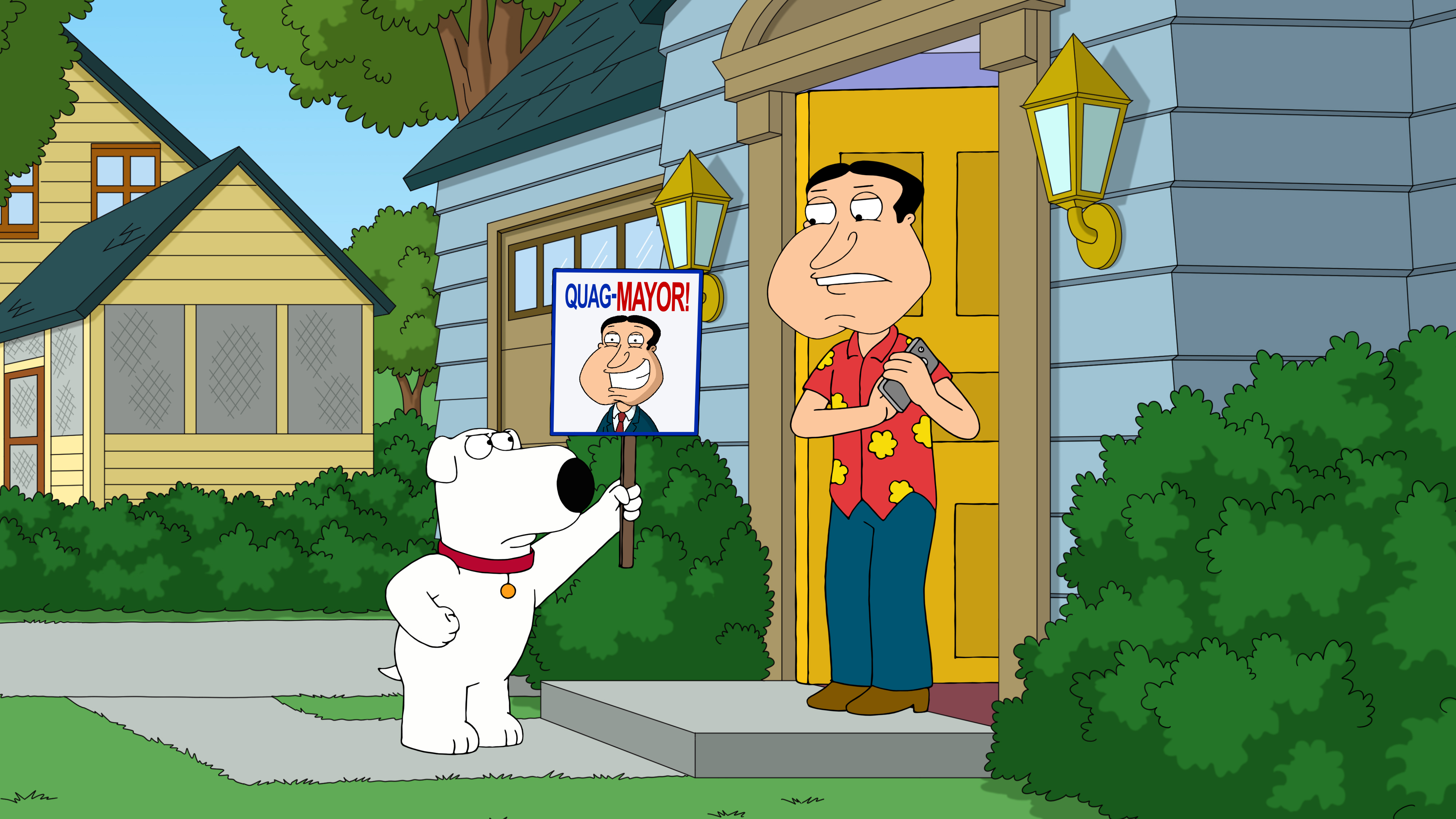 """Family Guy"" Adam West High"