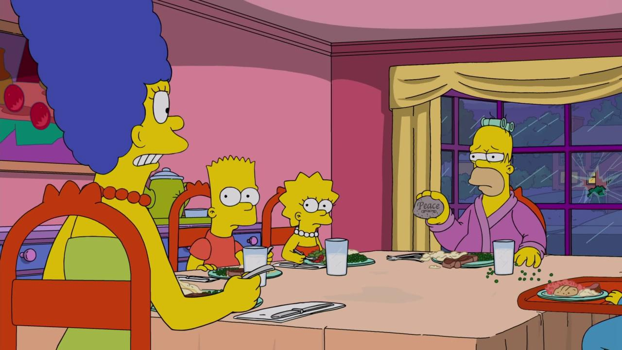 """The Simpsons"" Crystal Blue-Haired Persuasion"