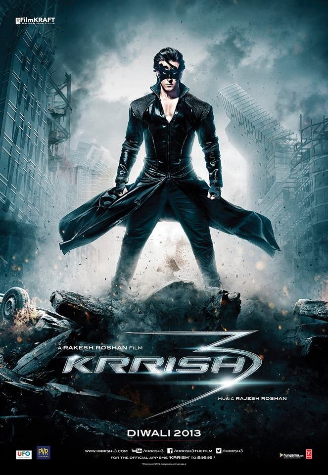 Krrish 3 (2013) Technical Specifications
