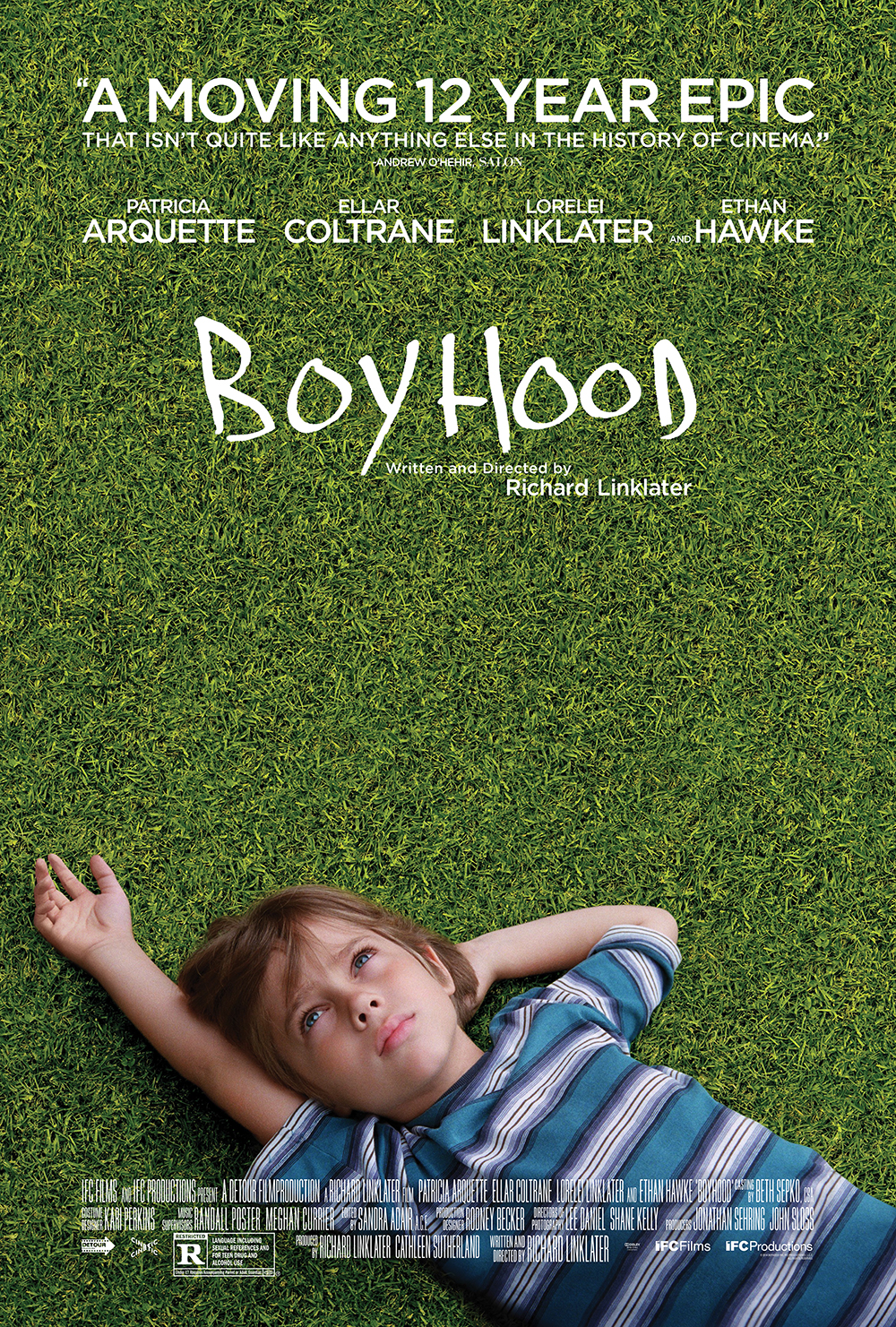 Boyhood Technical Specifications