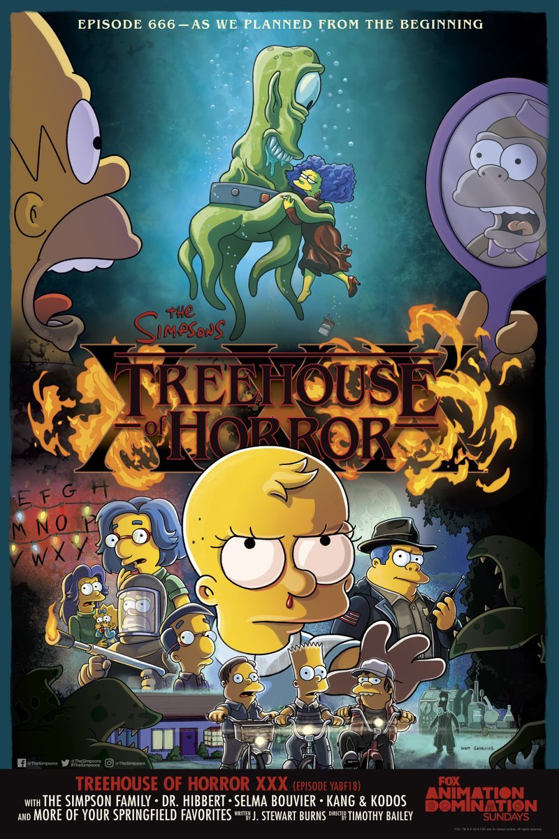 """The Simpsons"" Treehouse of Horror XXX"