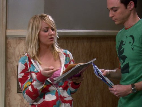 """The Big Bang Theory"" The Cooper-Hofstadter Polarization 