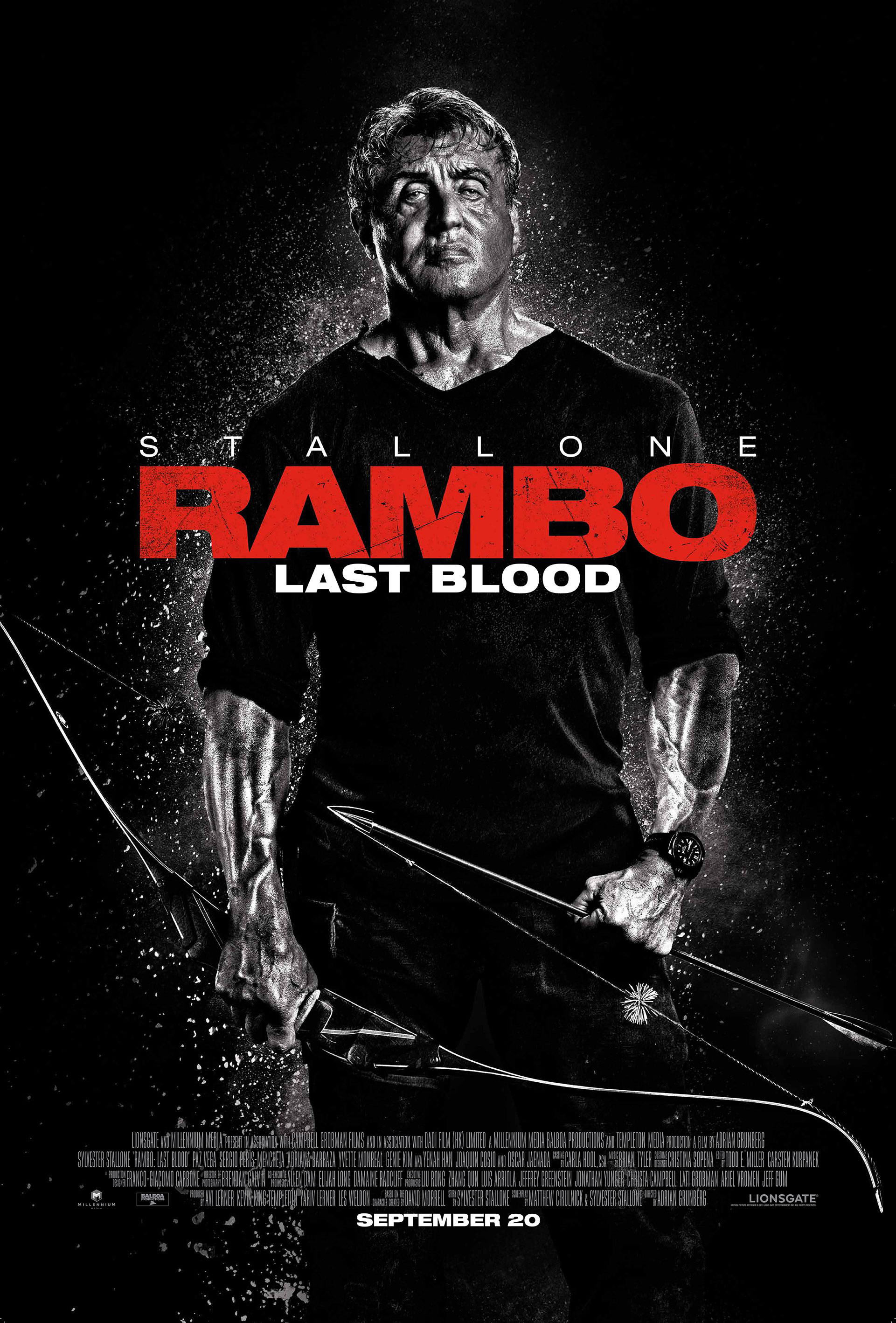 Rambo: Last Blood (2019)  Technical Specifications