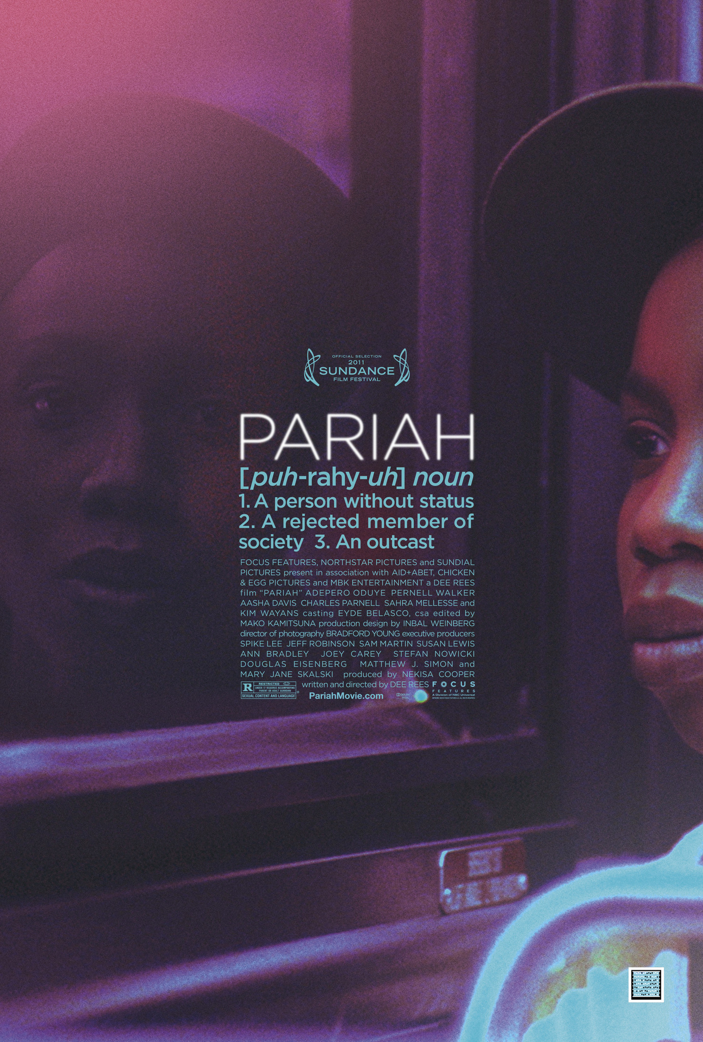 Pariah (2011) Technical Specifications