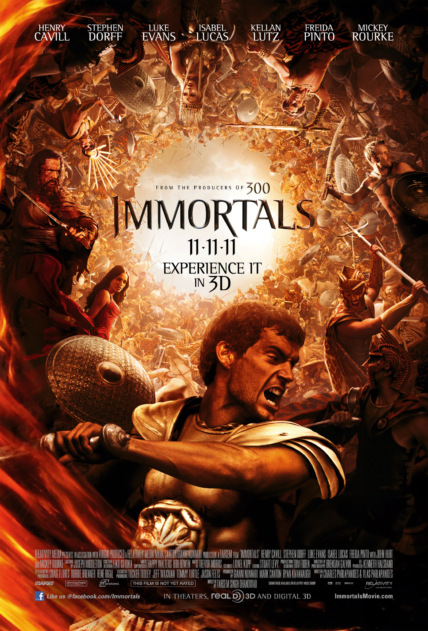 Immortals Technical Specifications