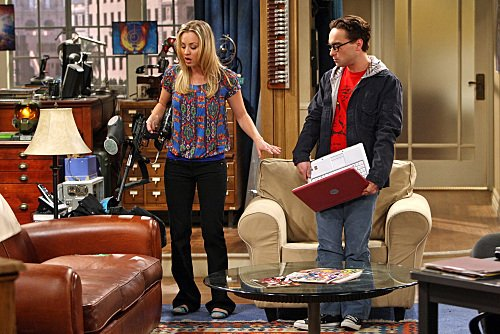 """The Big Bang Theory"" The Cushion Saturation Technical Specifications"