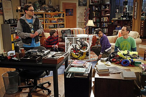 """The Big Bang Theory"" The Classified Materials Turbulence 
