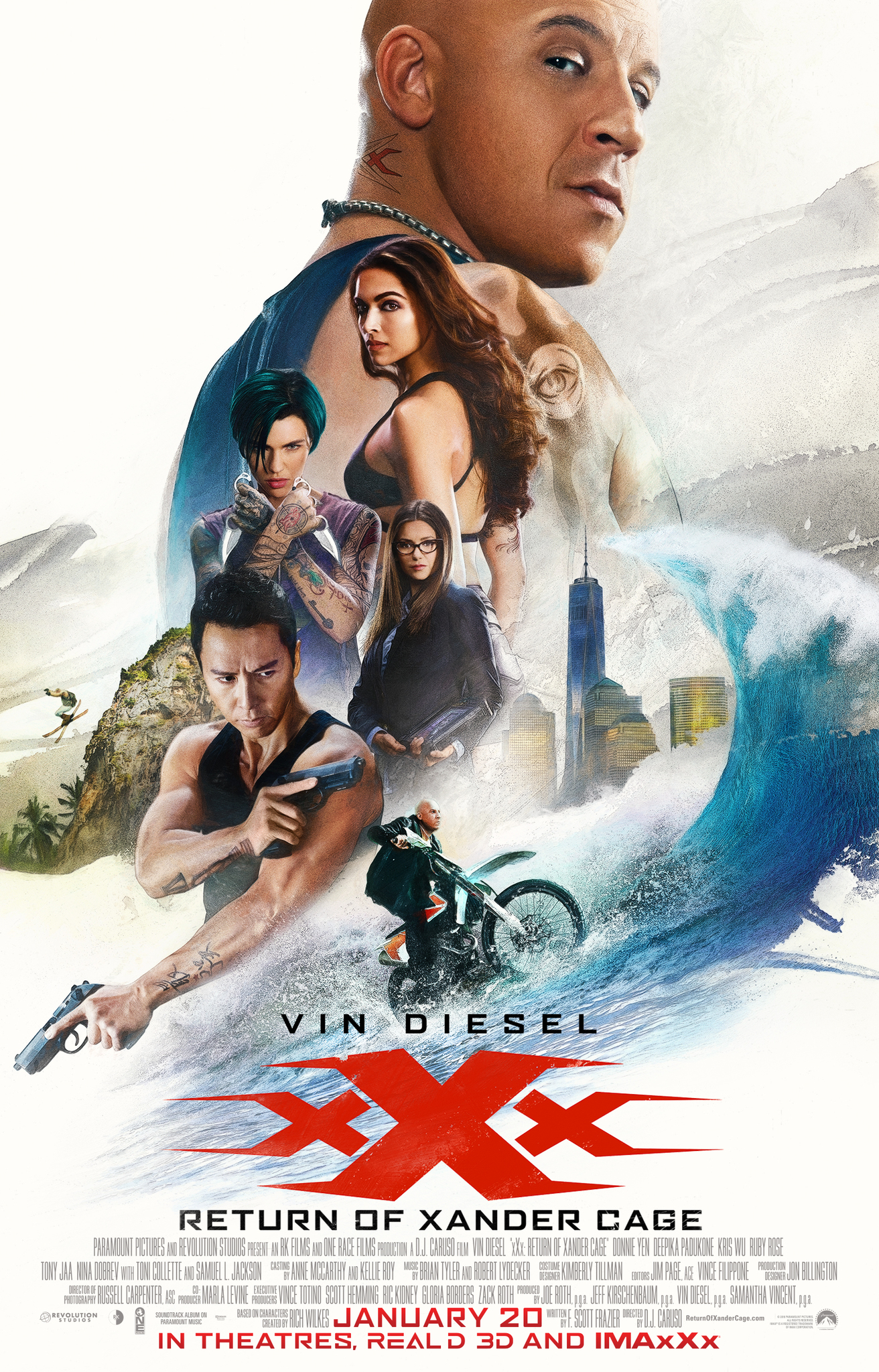 xXx: Return of Xander Cage (2017) Technical Specifications