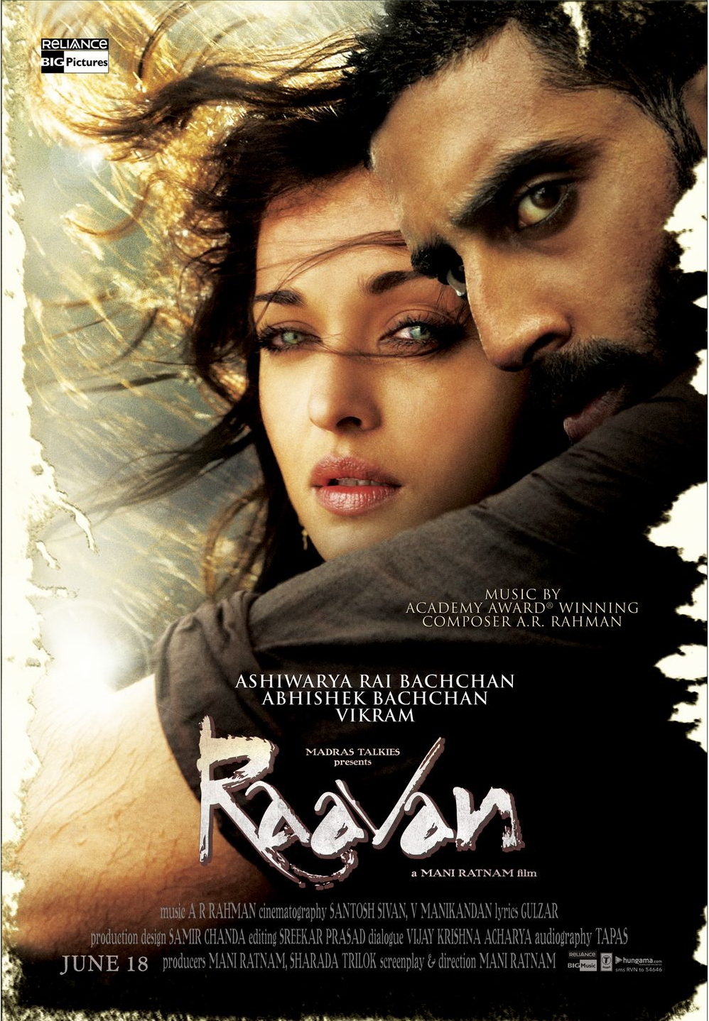 Raavan (2010) Technical Specifications