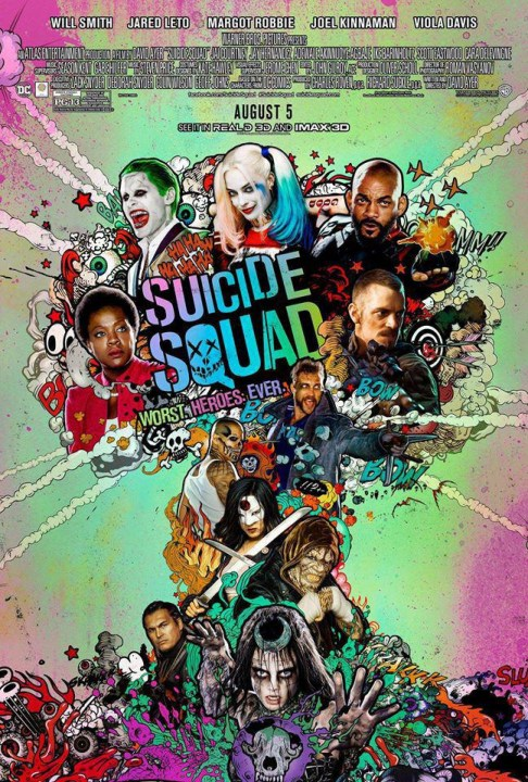 Suicide Squad (2016) Technical Specifications