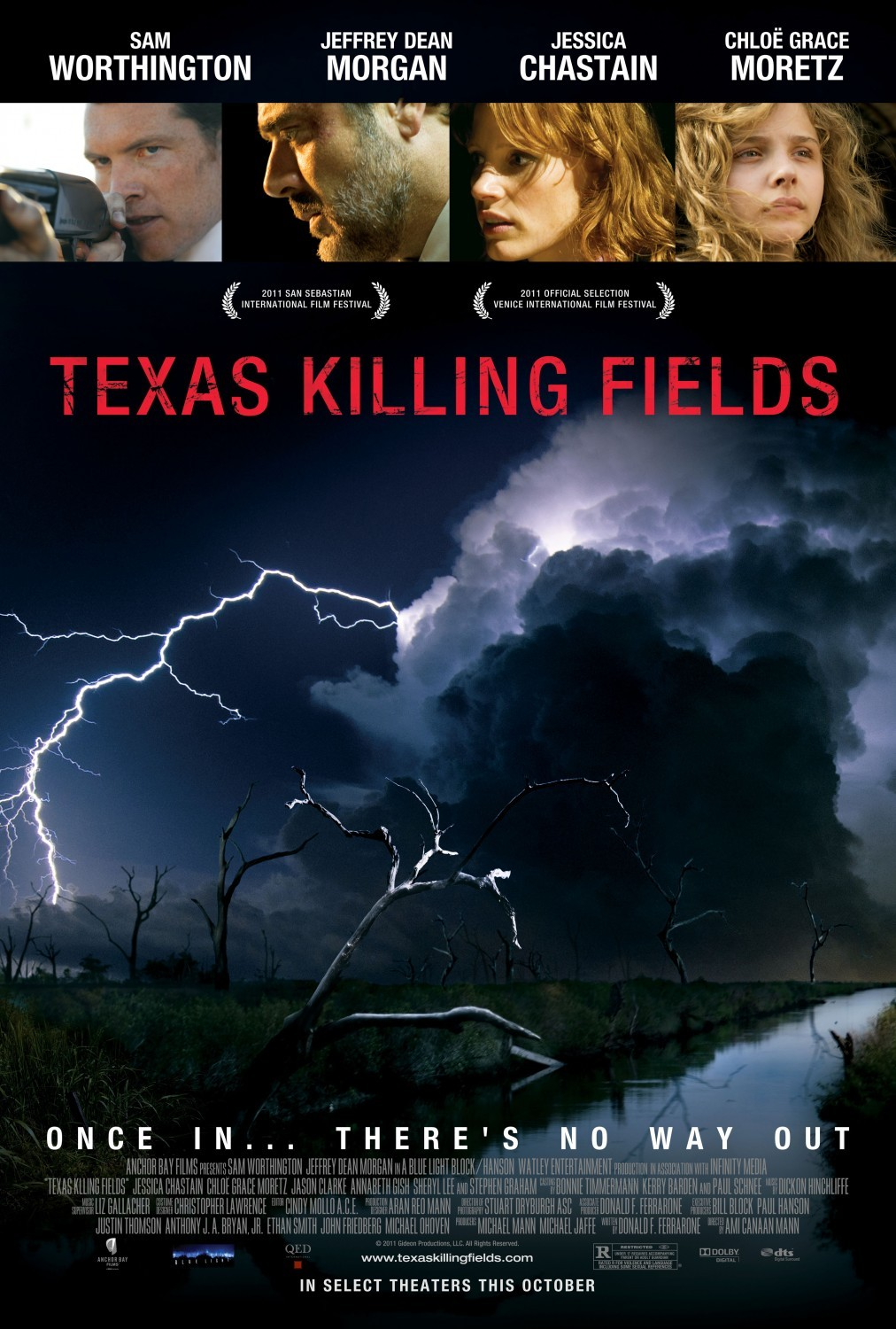 Texas Killing Fields Technical Specifications
